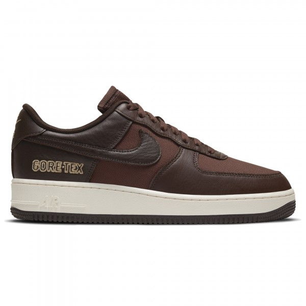 Nike Air Force 1 GORE-TEX (Baroque Brown/Seal Brown-Team Gold-Sail)