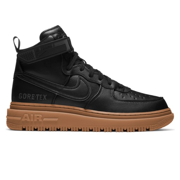 Nike Air Force 1 GORE-TEX Boot (Black/Black-Anthracite-Gum Medium Brown)