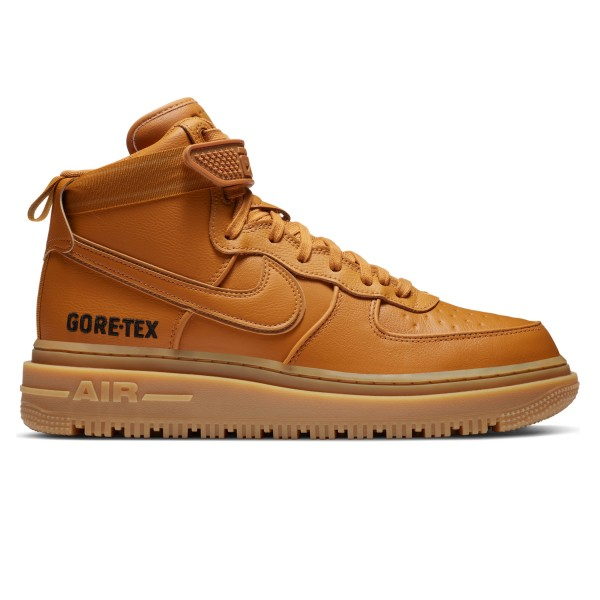 Nike Air Force 1 GORE-TEX Boot (Flax/Flax-Wheat-Gum Medium Brown)