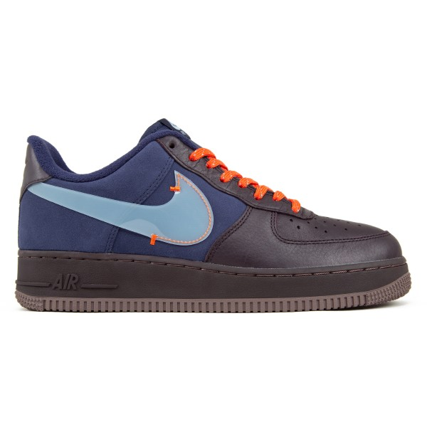Nike Air Force 1 PRM (Burgundy Ash/Celestine Blue)