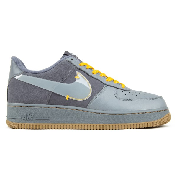 Nike Air Force 1 PRM (Cool Grey/Pure Platinum-Dark Grey)