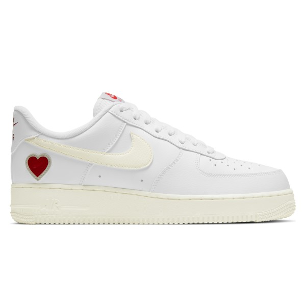 Nike Air Force 1 'Valentine's Day' (White/Sail-University Red)