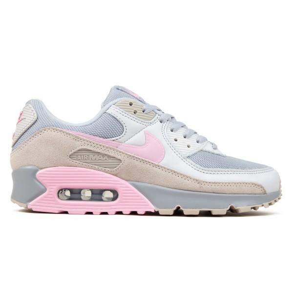 Nike Air Max 90 (Vast Grey/Pink-Wolf Grey-String)