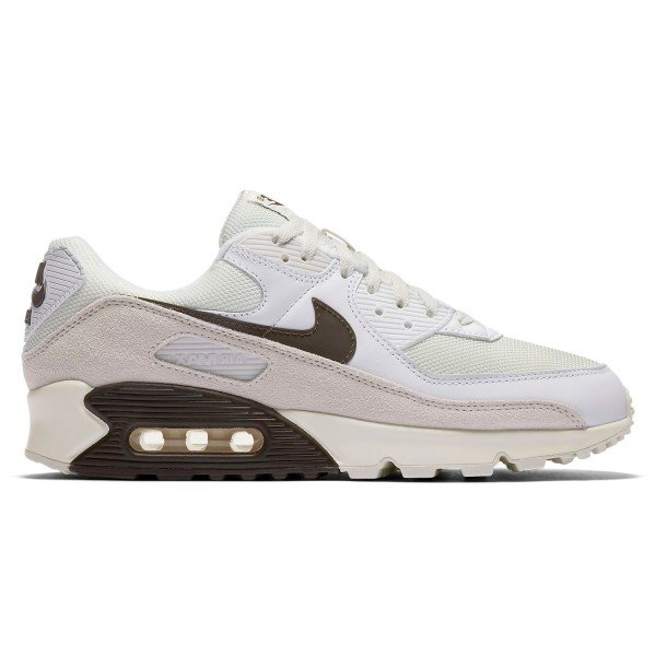 Nike Air Max 90 (White/Baroque Brown-Sail-Vast Grey)