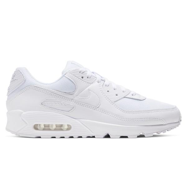Nike Air Max 90 (White/White-White-Wolf Grey)