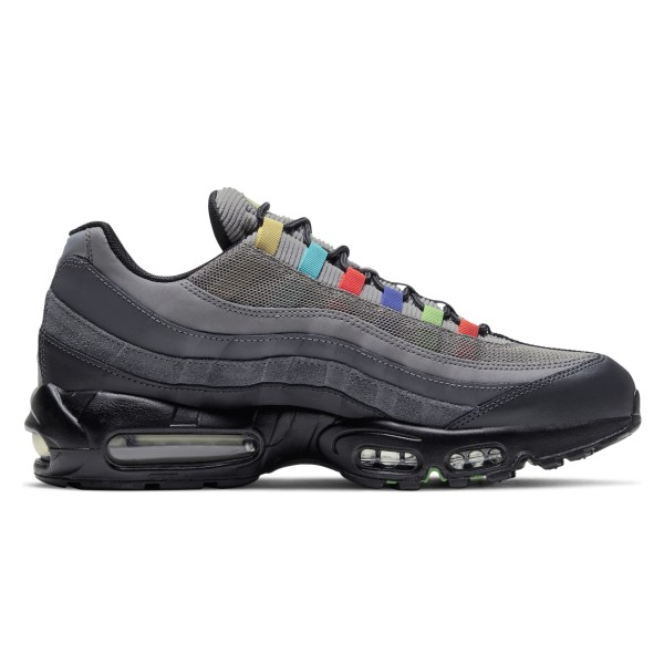 Nike Air Max 95 EOI 'Evolution of Icons' (Light Charcoal/University Red-Black)