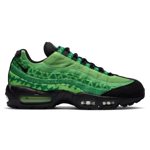 Nike Air Max 95 'Naija' (Pine Green/Black-Sub Lime-White)
