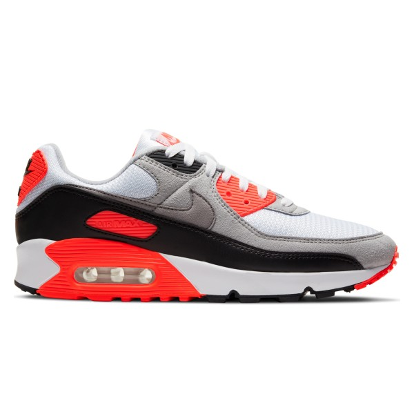 Nike Air Max III 'Infrared' (White/Black-Cool Grey-Radiant Red)