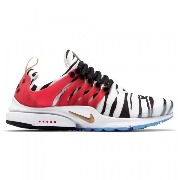 Nike Air Presto 'Korea' (White/Metallic Gold-Black-Red Orbit)