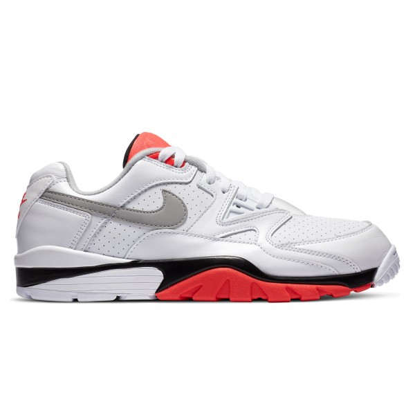 Nike Air Trainer 3 Low 'Infrared' (White/Lt Smoke Grey-Bright Crimson-Black)