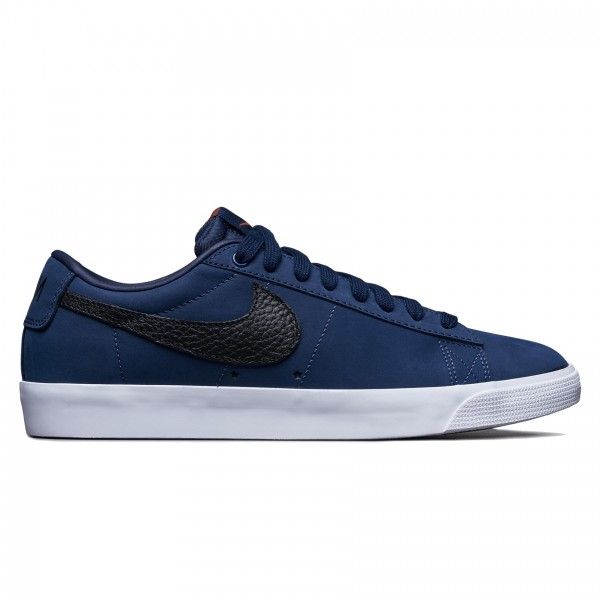 Nike SB Blazer Low GT ISO 'Orange Label Collection' (Midnight Navy/Black-Midnight Navy)