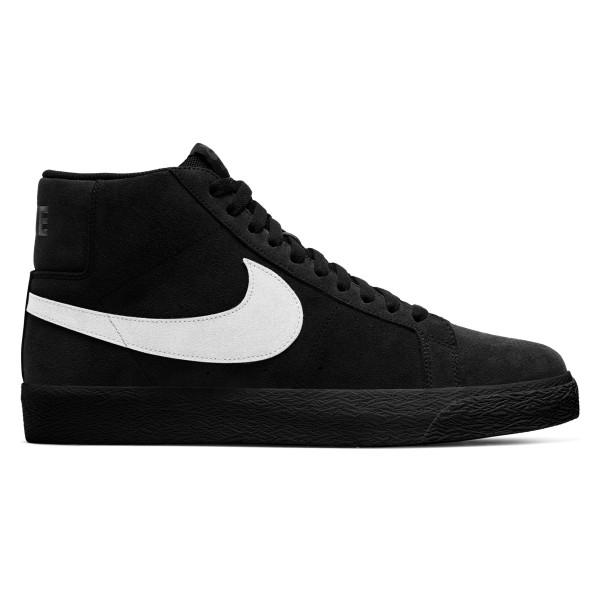 Nike SB Blazer Zoom Mid (Black/White-Black-Black)