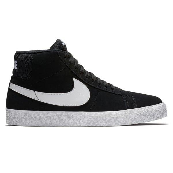 Nike SB Blazer Zoom Mid (Black/White-White-White)