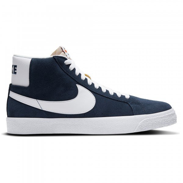 Nike SB Blazer Zoom Mid (Navy/White-Black-University Red)