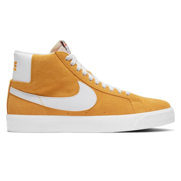 Nike SB Blazer Zoom Mid (University Gold/White-University Gold)