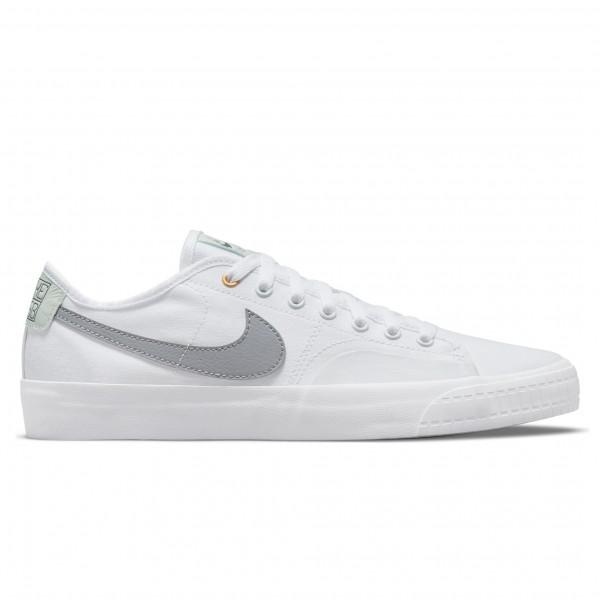 Nike SB BLZR Court DVDL (White/Wolf Grey-White-Barely Green)