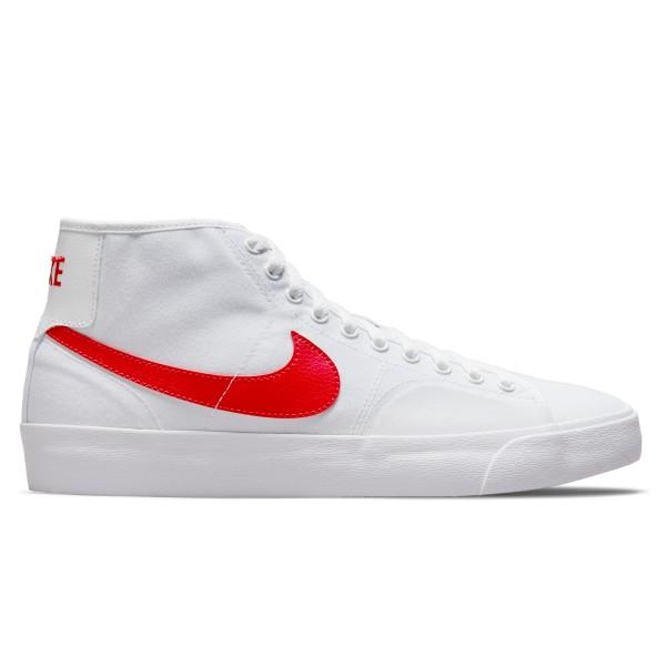 Nike SB BLZR Court Mid (White/University Red-White)