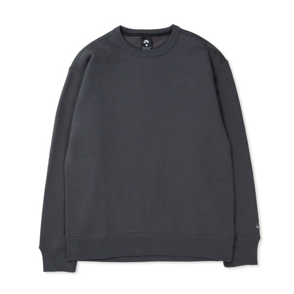 Nike SB Crew Neck Sweatshirt ISO 'Orange Label Collection' (Dark Smoke Grey/Smoke Grey)