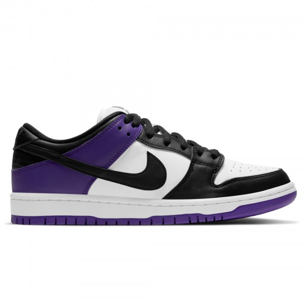 Nike SB Dunk Low Pro 'Court Purple' (Court Purple/Black-White-Court Purple)