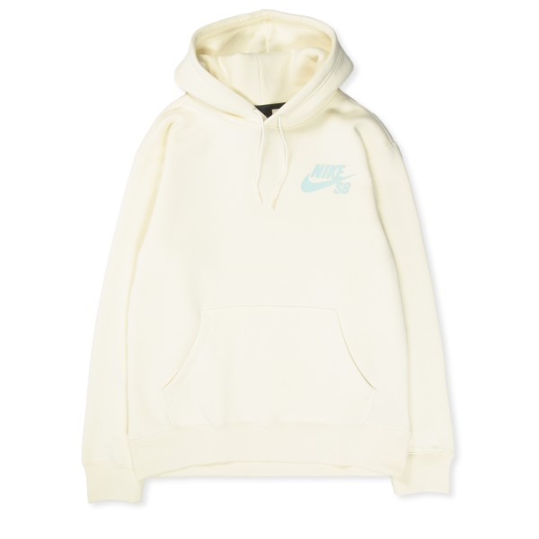 Nike SB Icon Pullover Hooded Sweatshirt (Coconut Milk/Light Dew)