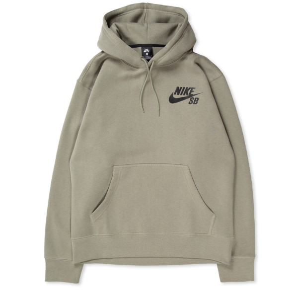 Nike SB Icon Pullover Hooded Sweatshirt (Light Army/Black)