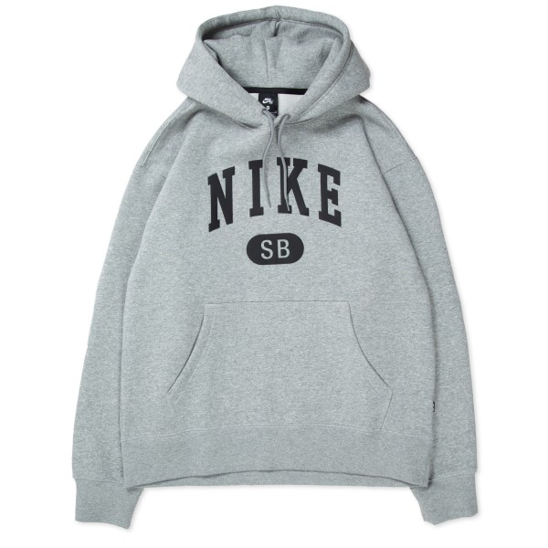Nike SB March Radness Pullover Hooded Sweatshirt (Dark Grey Heather/Black)