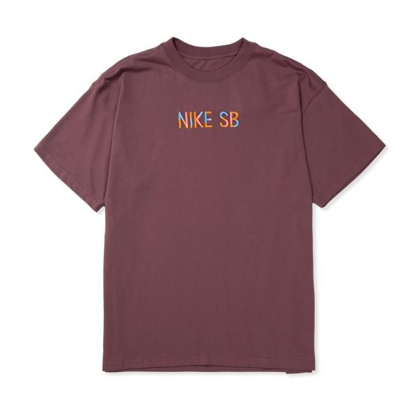 Nike SB Mosaic T-Shirt (Dark Wine)