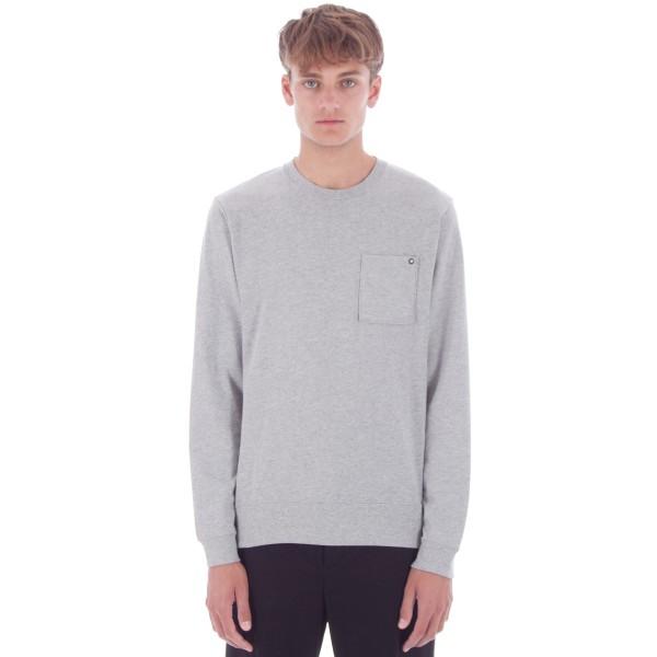 Nike SB Pocket Long Sleeve Shirt (Dark Grey Heather)
