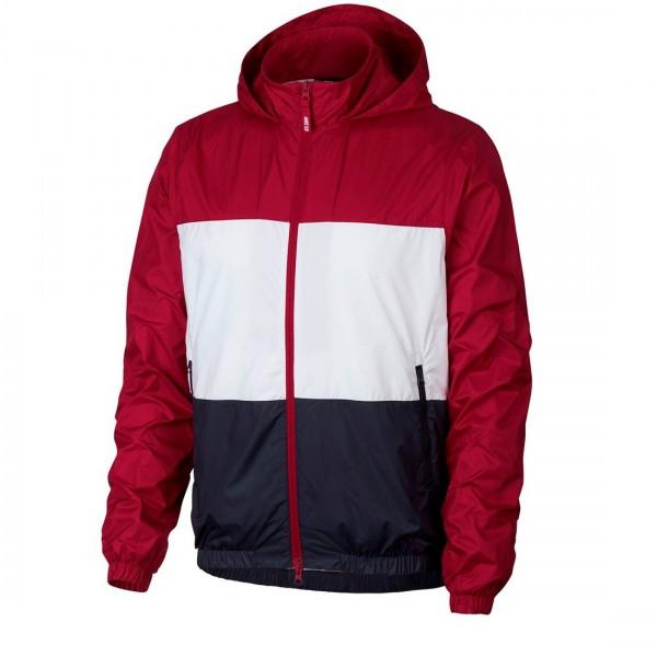 Nike SB Shield Hooded Jacket (Red Crush/White/Obsidian)
