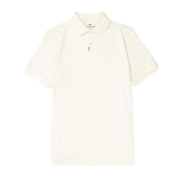 Nike SB Terry Cloth Polo Shirt 'Orange Label Collection' (Coconut Milk/White)