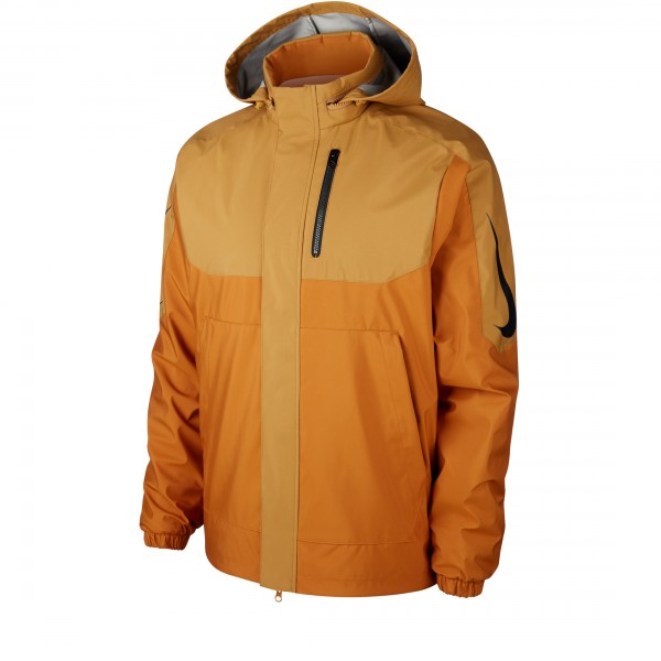 "Nike SB x Oski Reversible Jacket ""Orange Label Collection"" (Muted Bronze/Burnt Sienna/Black)"