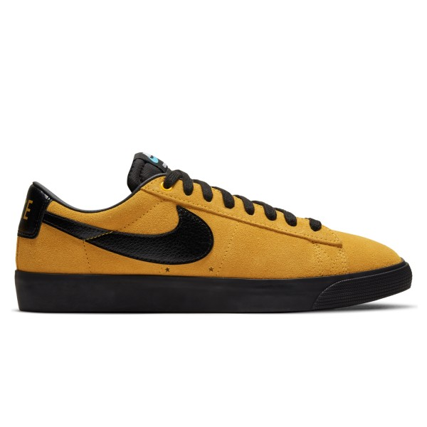 Nike SB Zoom Blazer Low GT 'Invert Pack' (University Gold/Black-University Gold)