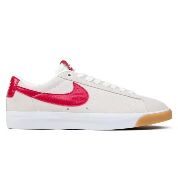 Nike SB Zoom Blazer Low GT (Sail/Cardinal Red-White-Gum Light Brown)