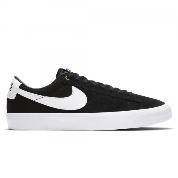 Nike SB Zoom Blazer Low Pro GT (Black/White-Black-Gum Light Brown)