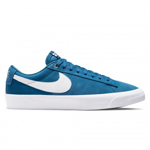 Nike SB Zoom Blazer Low Pro GT (Court Blue/White-Court Blue)