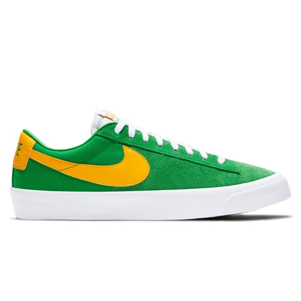 Nike SB Zoom Blazer Low Pro GT 'Lucky Green' (Lucky Green/University Gold-Black-White)