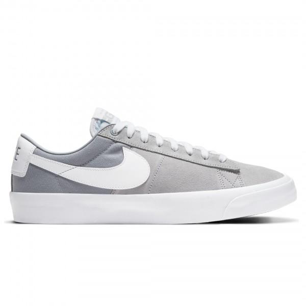 Nike SB Zoom Blazer Low Pro GT (Wolf Grey/White-Wolf Grey-White)