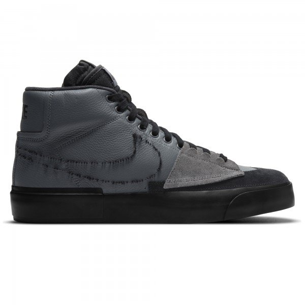 Nike SB Zoom Blazer Mid Edge (Iron Grey/Black-Black)