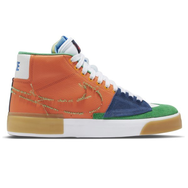 Nike SB Zoom Blazer Mid Edge (Safety Orange/Lucky Green)