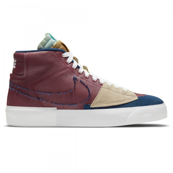 Nike SB Zoom Blazer Mid Edge (Team Red/Navy-Light Dew-Summit White)
