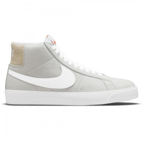 Nike SB Zoom Blazer Mid ISO 'Orange Label Collection' (White/White-White-White)