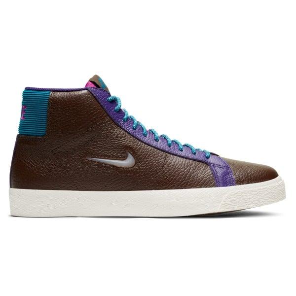 Nike SB Zoom Blazer Mid Premium (Baroque Brown/White-Green Abyss)