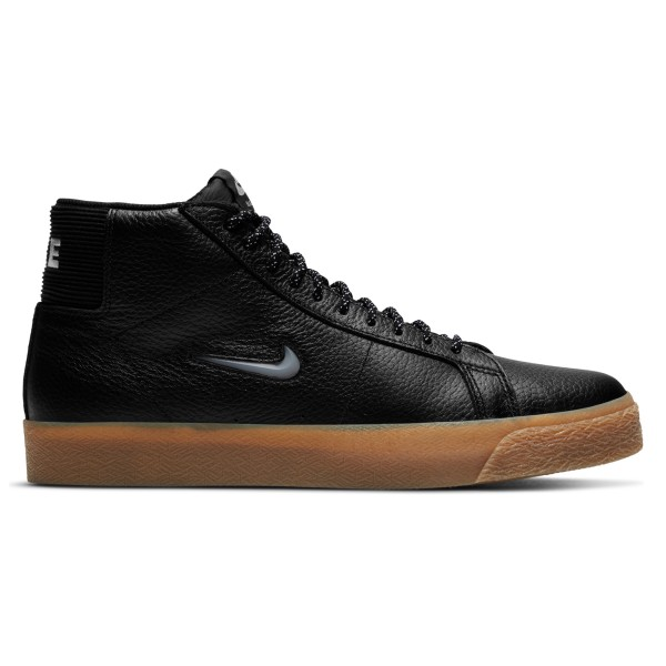Nike SB Zoom Blazer Mid Premium (Black/Black-Gum Light Brown-White)