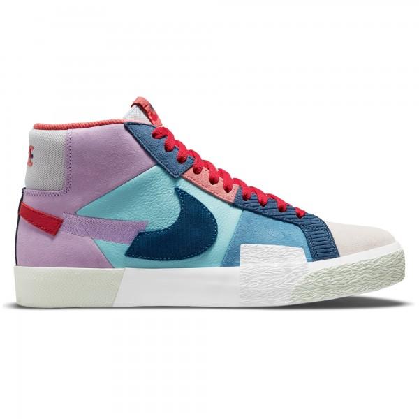 Nike SB Zoom Blazer Mid Premium 'Mosaic Pack' (Lilac/Court Blue-Copa-Dutch Blue)