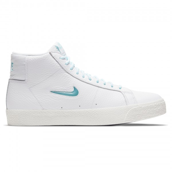 Nike SB Zoom Blazer Mid Premium (White/Glacier Ice-White-Summit White)