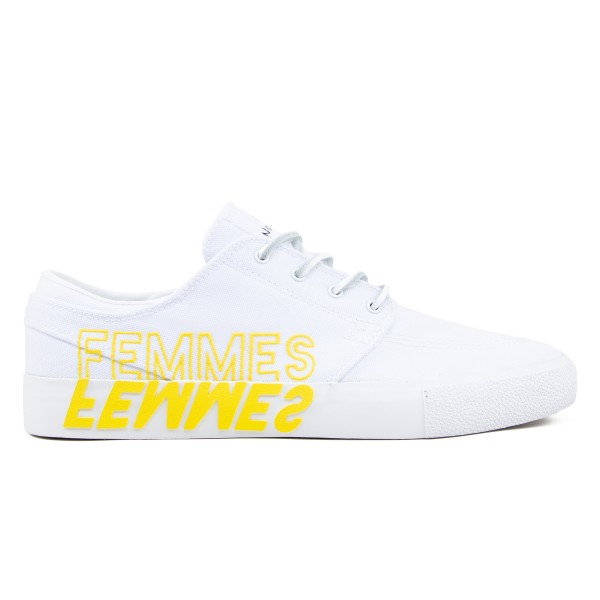 Nike SB Zoom Stefan Janoski RM 'Violent Femmes' QS (White/Clear White-Tour Yellow)