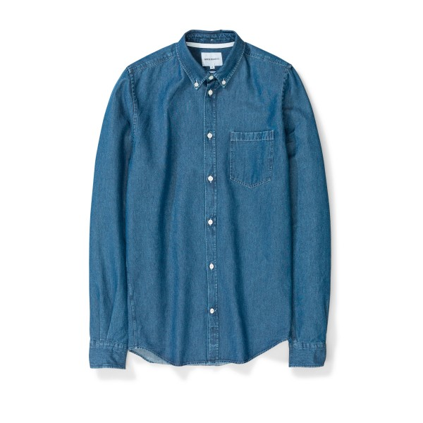 Norse Projects Anton Denim Shirt (Sunwashed)