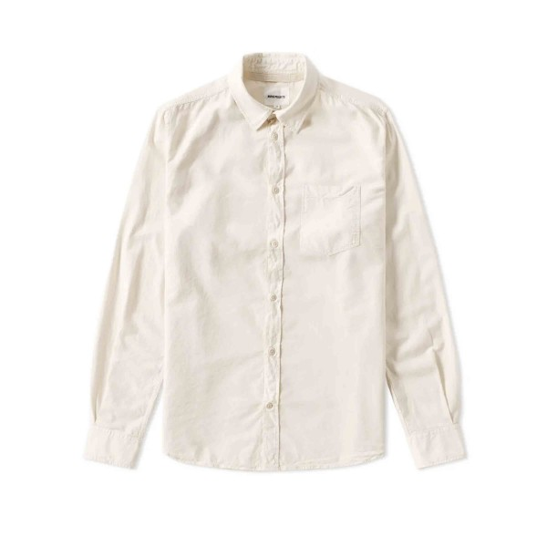 Norse Projects Anton Light Oxford Shirt (Ecru)