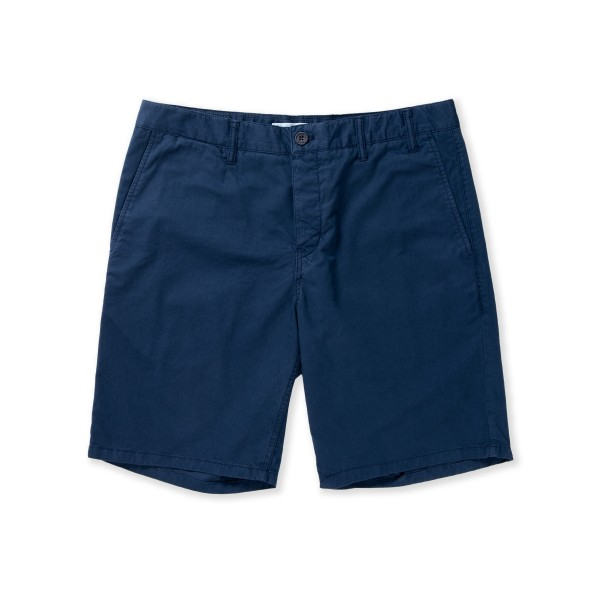 Norse Projects Aros Light Twill Short (Navy)