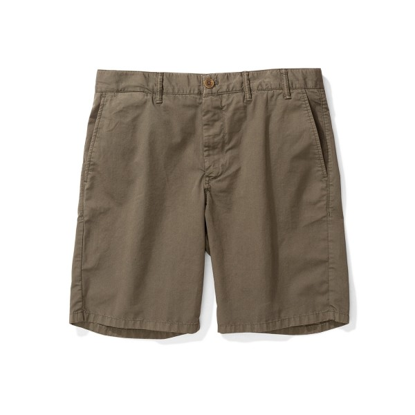 Norse Projects Aros Light Twill Shorts (Ivy Green)